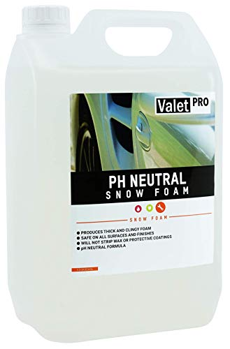 ValetPRO EC145L PH Neutral Snow Foam, 5 Liter