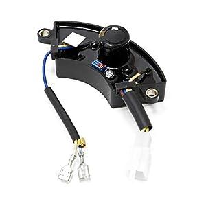 WilTec Repuesto Regulador Automático Eléctrico Generador Gasolina AVR (50Hz/220V) para 2000W 2500W