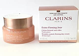 Clarins Extra-Firming Jour Wrinkle Control, Firming Day Cream - All Skin Types, 1.7-oz.