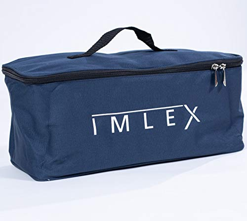 IMLEX Kühltasche Isoliertasche Kühlbox für Faltbaren Bollerwagen IM-4268 Offroad 38 x 16 x 18 cm Thermotasche Camping Faltbar Mitternachtblau