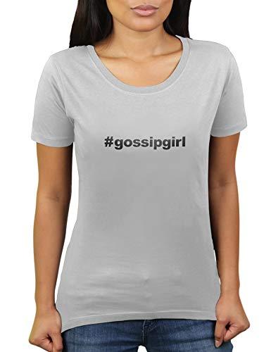 Hashtag GossipGirl # Gossip Girl - Damen T-Shirt von KaterLikoli, Gr. S, Light Gray
