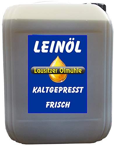 Lausitzer Leinöl Leinöl 5 Liter kaltgepresst ohne Konservierungsstoffe