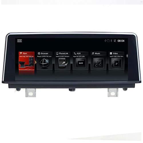 Autoradio TOPNAVI Android 6.0 pour BMW Série 3 F30 / F31 / F35 / F35 / F35 NBT / 4 Série F32 / F33 / F36 CIC/NBT 2011 2012 2013 2014 2015 GPS Navi Stéréo WiFi 3G RDS Miroir Lien