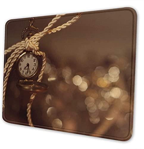 Alfombrilla de ratón para Juegos - Alfombrilla de Goma Rectangular de árbol Blanco - 7,9 x 9,5 x 0,12 Pulgadas (3 mm de Grosor) Alfombrilla de ratón para Soporte de Regalo Reloj de Pulsera con ratón