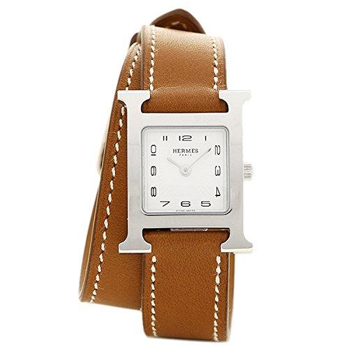 (エルメス) HERMES HERMES 時計 エルメス W036717WW00 HH1.210.131/VBA1 Hウォッチ PM 2重巻き レディース腕時計ウォッチ ブラウン/シルバー/ホワイト [並行輸入品]