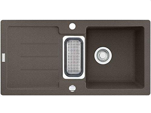 Franke Strata STG 651–86Umbra–Fregadero de granito
