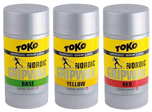 Toko Nordic Waxset Base+Grip, 3x25g