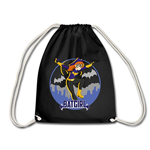 DC Super Hero Girls Batgirl In Gotham Turnbeutel, Schwarz