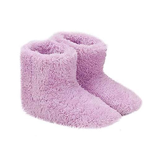 Climatizada zapatillas calientes USB Calefacción Zapatillas de invierno calefacción plantillas para la buena noche de sueño 5V calentador, Casa y jardín