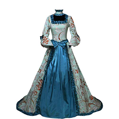 Renaissance Princess Dress for Women Elegant Recoco Gothic Victorian Ball Gown Medieval Dress Theater Opera Costume image