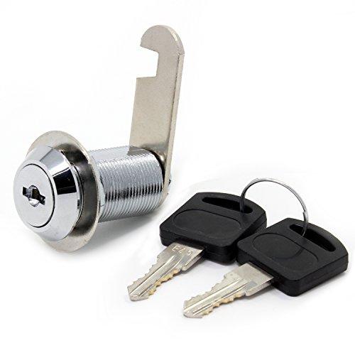 Cerradura de seguridad para buzón de acero inoxidable, armario, etc. con llaves similares de 16 mm, 30mm Drawer lock