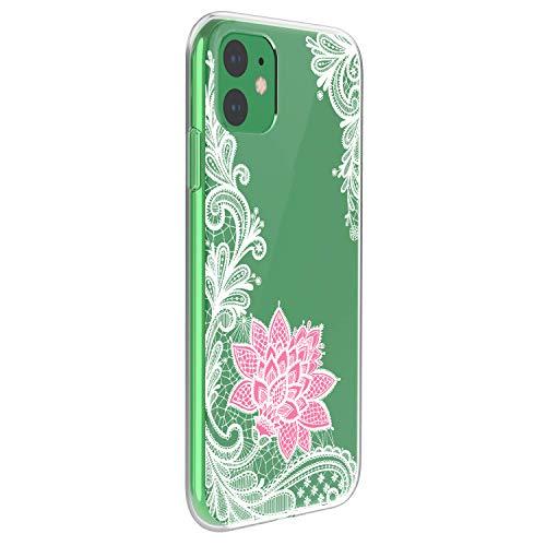 Oihxse Schutzhülle, modisch, transparent, Silikon, kompatibel mit iPhone 12 5,4 Zoll, 2020, ultradünn, weich, TPU, niedlich, Tier-Schutzhülle, kratzfest