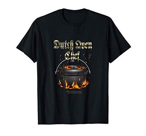Dutch Oven Chef Design für Fans des Dutch Oven T-Shirt