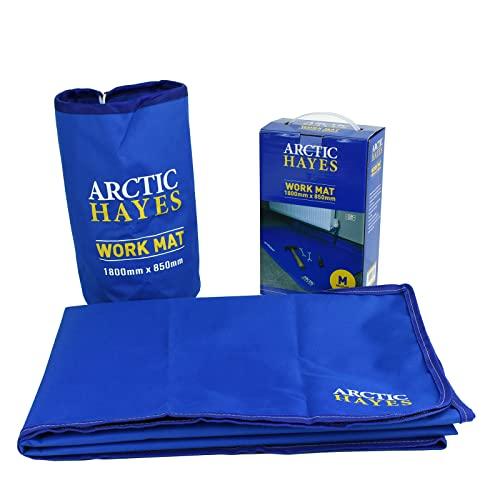Arctic Hayes Tapis de travail antidérapant, imperméable et résistant aux produits chimiques (1800 mm x 850 mm), convient pour une utilisation en intérieur et en extérieur