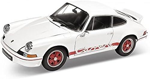 Obtén lo ultimo Welly Porsche Carrera Carrera Carrera Vehicle (blanco)  producto de calidad