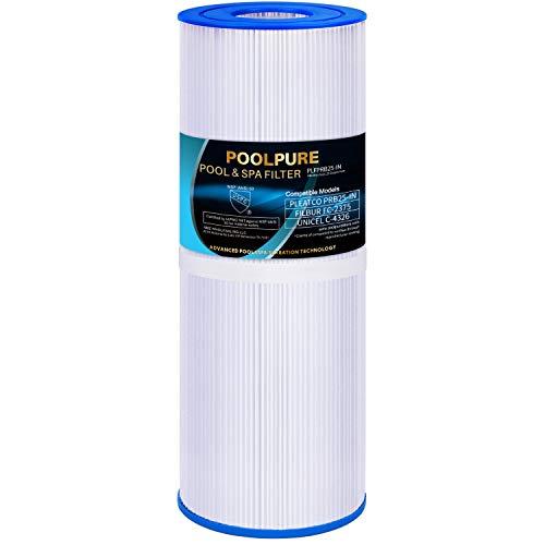 POOLPURE Hot Tub Filter Replace Pleatco PRB25-IN, Unicel C-4326, Guardian 413-106, Filbur FC-2375, Pentair R173429, 3005845, 17-2327, 100586, 33521, 25392, 817-2500, 5X13 Drop in Spa Filter, Pack of 1