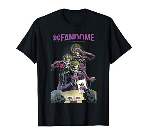 DC Fandome Joker Three of a Kind Maglietta