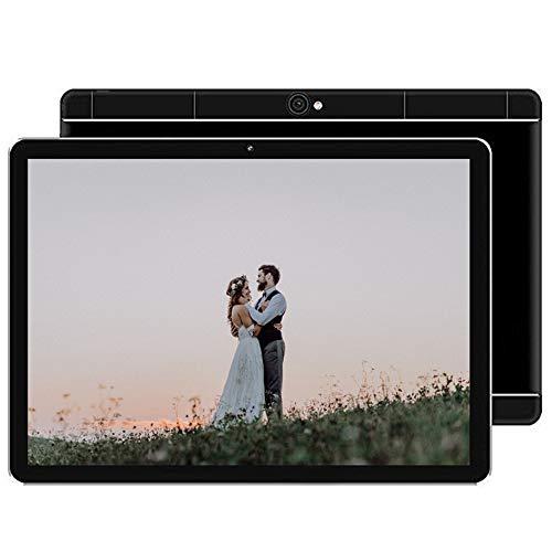 tablet Android PC PC con Pantalla HD de 10.1 Pulgadas Cámaras HD Frontal y Trasera Batería de Gran Capacidad 16GB Soporte WiFi Bluetooth Tarjeta TF Espacio de expansión