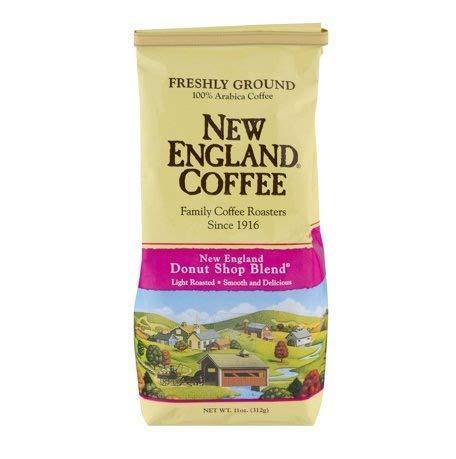 Freshly Ground New England Coffee, Donut Shop Blend