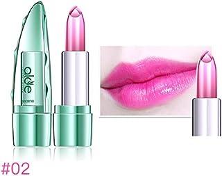 Yanshan Cambio de temperatura Color Jelly Lipstick Aloe Vera Lip Stick Hidratante duradero (Color : Color 2#)