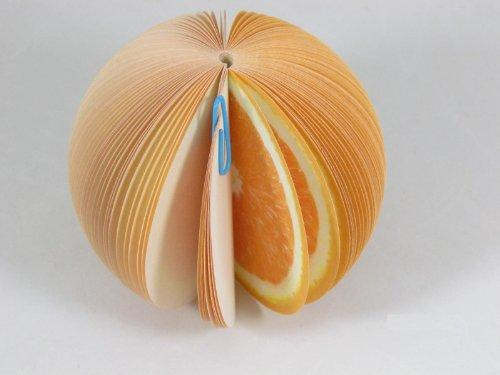 Fruit Memo Pad: Orange
