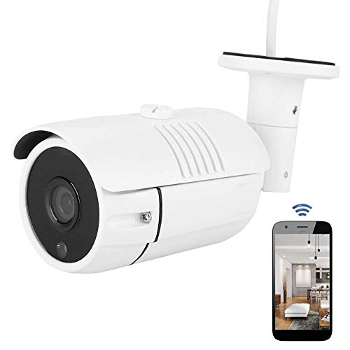 Chef Turk Cámara De Seguridad Exterior REE, 1080P Cámara IP Doméstica Inalámbrica Utiliza Monitorización Inteligente IP66, Filtro De Corte IR, Detección De Movimiento, Sistemas NTSC, Seguridad En El H