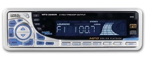 Boss RDS 3080 MP3, Autoradio, CD-Receiver, MP3-Wiedergabe, RDS