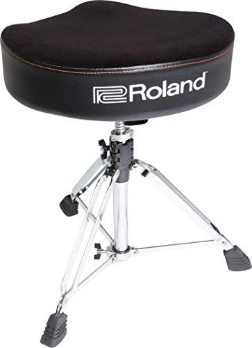 Sgabello per Batteria Roland a Sella, con seduta in velours - RDT-S