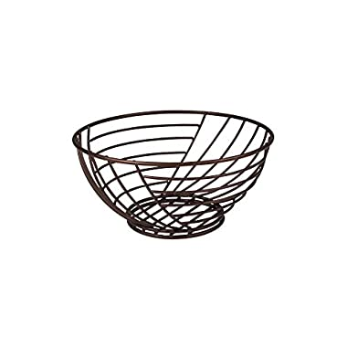 Spectrum Diversified Wright Small Fruit Bowl, Bronze