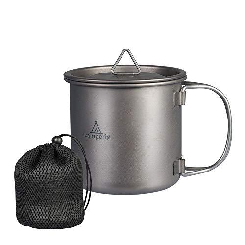 Camperig - Utensilios de cocina para camping (400 ml, titani