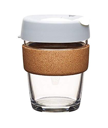 KeepCup Cork - Fika 340ml Thermobecher Kaffeebecher Reisebecher Glas AKTION -20%