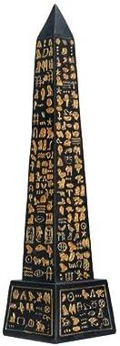 Black Egyptian Obelisk Collectible Figurine