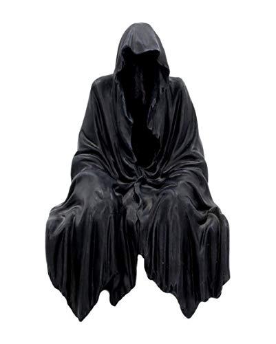 Horror-Shop Kantensitzer Sensenmann als Geschenk für Gothic Fans & Halloween Deko