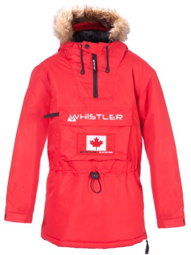 Whistler Kinder Anorak Fowler Junior W-Pro 3.000, Chili Pepper, 14-164 cm