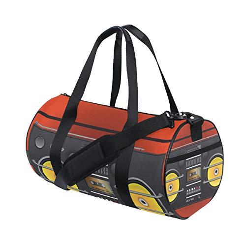 DEZIRO Retro Blaster Sport Duffle Bag Drum Sporttas