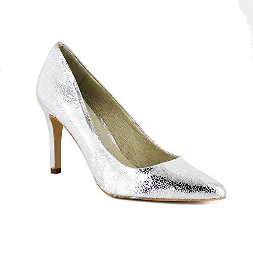 Salón J.Bradford Zapato Plata JB-ADA - Color - Gris, Talla Zapatos -...