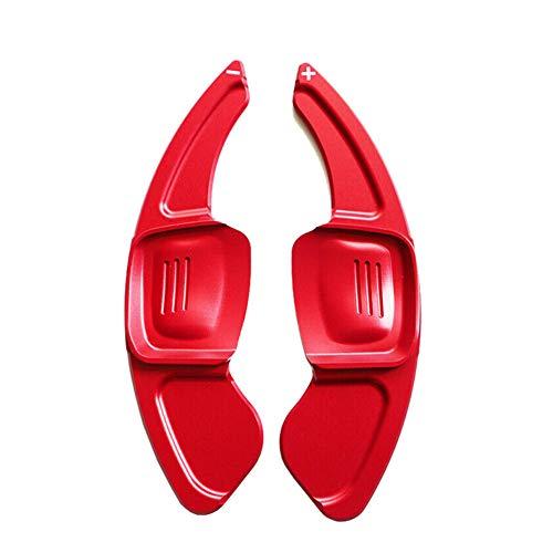 HJPOQZ Extensión de Volante de Coche, Palanca de Cambios de Aluminio, Cambio de Marchas del timón, para Volkswagen VW Golf 7 MK7 Polo MK6 Touareg