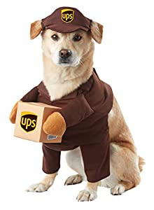 UPS Dog Fancy Dress Costume