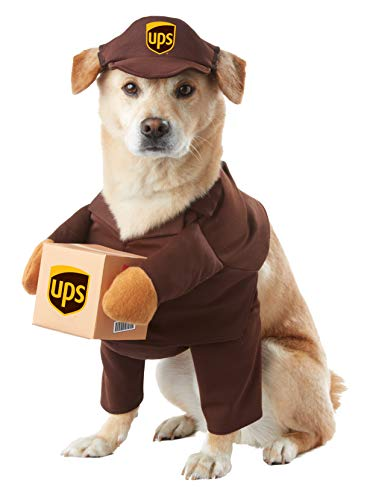 Disfraz California Collections PET20151 UPS PAL Dog Disfraz pequeño.