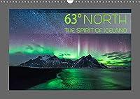 63° North - The spirit of Iceland (Wandkalender 2022 DIN A3 quer): Hochwertige Landschaftsaufnahmen Islands (Monatskalender, 14 Seiten )