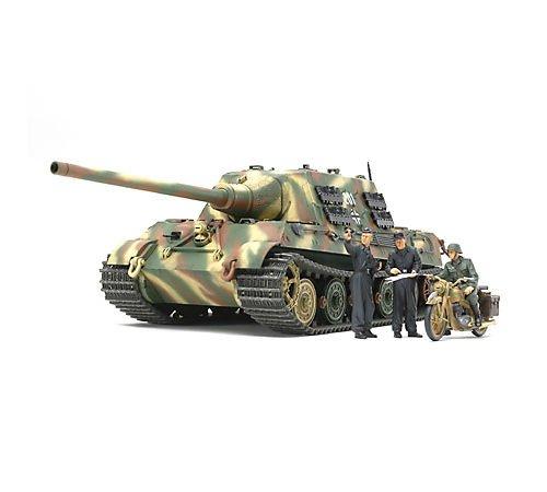 タミヤ 1/35 ミリタリーミニチュアシリーズ No.307 ドイツ陸軍 重駆逐戦車 ヤークトタイガー 中期生産型 オットー・カリウス搭乗車 プラモデル 35307
