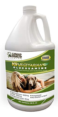 Liquid Health K9 Vegetarian Glucosamine Hip & Joint Supplement - 128 oz (Gallon)