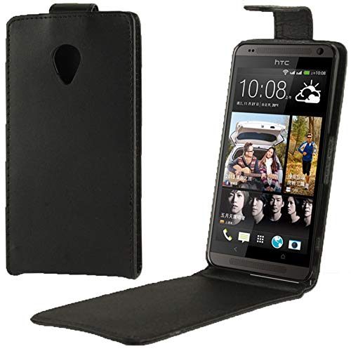 ZAORUN Cubiertas Protectoras de Cellphone Funda de Cuero con Tapa Vertical Compatible for HTC Desire 700