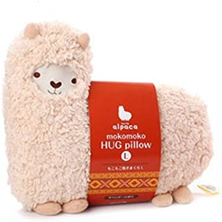 SAVYOU White color Aunt Merry Mokomoko Llama Alpaca Hug...