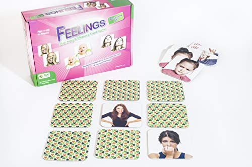 MKgames Feelings Memory Card Game