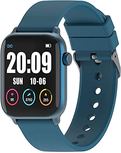 NCHEOI Smartwatches Aktivität Fitness Smartwatches 1 3 Touchscreen Smart Uhr mit Körpertemperatur IP68 wasserdichte Tracker Herzfrequenz Schlafmonitor Schritt Zähler Stoppuhr Für Männer Frauen