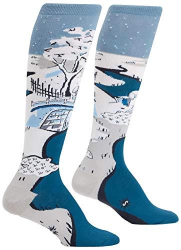 Sock It To Me Damen Kniestrümpfe - Meguro-Trommelbrücke (Größe 36-42)