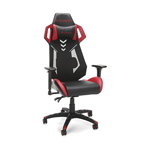 RESPAWN 200 Racing Style Gaming Chair, in Red (RSP-200-RED) chair gaming red