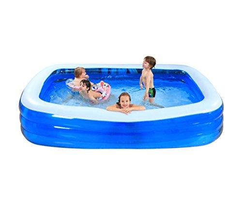 QLM-Inflatable bathtub Praktische tragbare Kind Erwachsene aufblasbare Ba Familie große aufblasbare Schwimmbad Kinder Spielzeug Pool and Inflatable Plunge Bath (größe : 265 * 175 * 60cm)