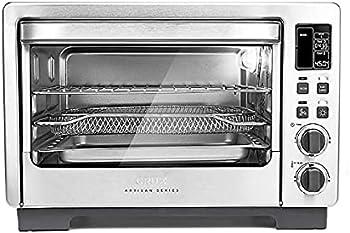 Crux Artisan Series 6 Slice Digital Air Frying Toaster Oven